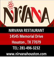 Nirvana houston restarurant