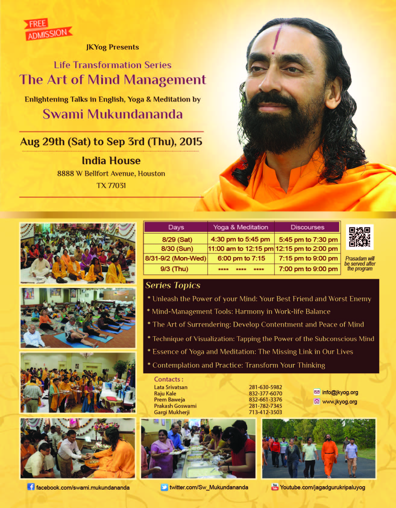 Life Transformation Series: The Art of Mind Management